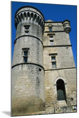 Gordes Castle--Mounted Giclee Print