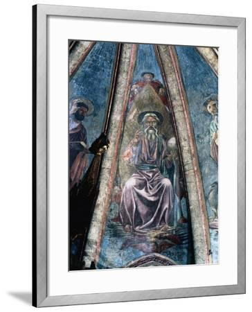 God Father, 1442-Andrea Del Castagno-Framed Giclee Print