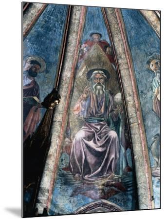 God Father, 1442-Andrea Del Castagno-Mounted Giclee Print