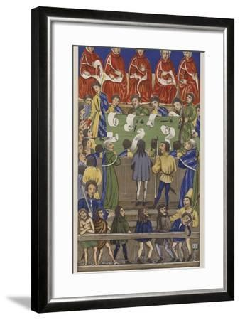 Court of the King's Bench--Framed Giclee Print