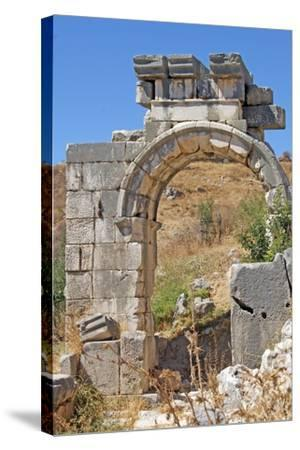 Hellenistic Gate, Xanthos, Turkey--Stretched Canvas Print