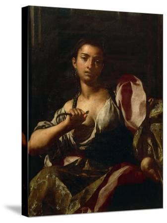 Cleopatra-Giuseppe Bonito-Stretched Canvas Print