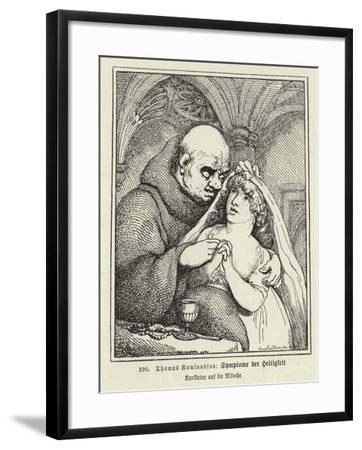 Symptoms of Sanctity-Thomas Rowlandson-Framed Giclee Print