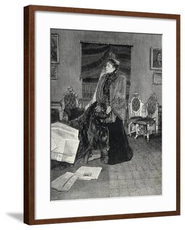 Italian Actress Eleonora Duse--Framed Giclee Print