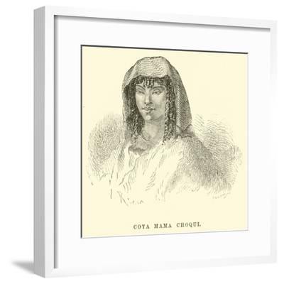 Coya Mama Choqui-?douard Riou-Framed Giclee Print