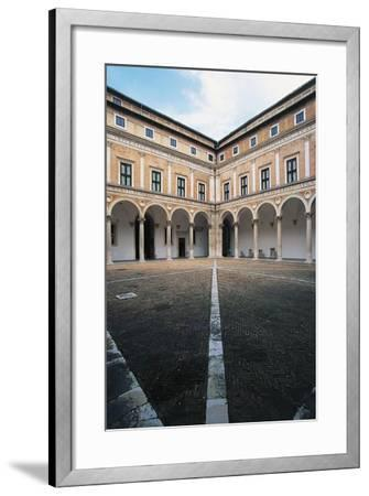 Courtyard of Honour, Ducal Palace--Framed Giclee Print