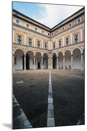 Courtyard of Honour, Ducal Palace--Mounted Giclee Print