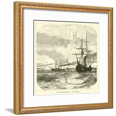 The Bombardment of Odessa--Framed Giclee Print