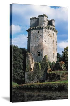Tower of Largoet Castle--Stretched Canvas Print