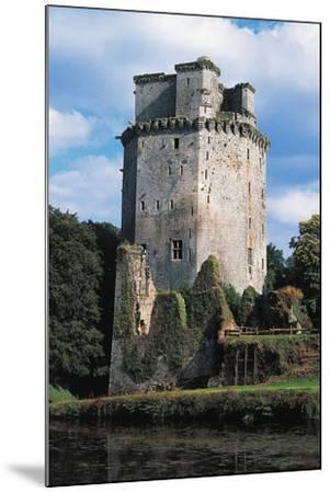 Tower of Largoet Castle--Mounted Giclee Print