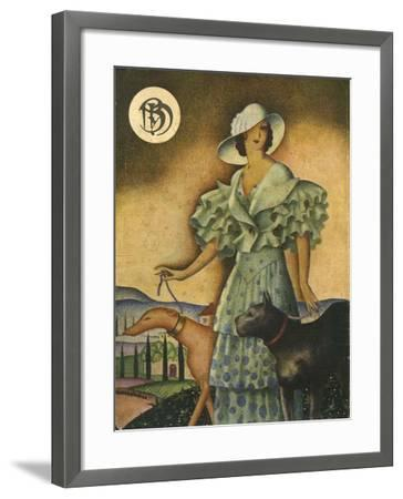 Illustration from 'Blanco Y Negro', 1925--Framed Giclee Print