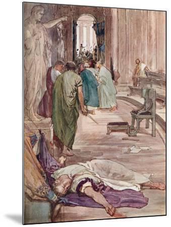 The Murder of Caesar-William Rainey-Mounted Giclee Print