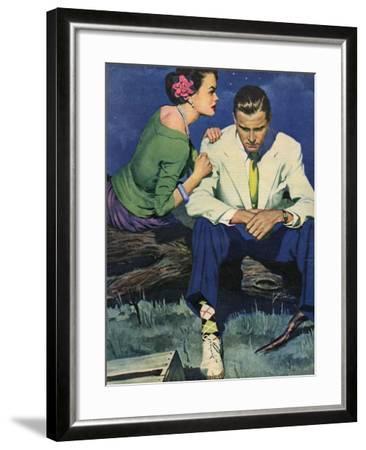 Illustration from John Bull--Framed Giclee Print