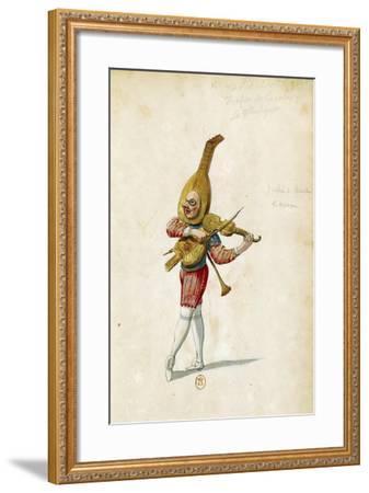 Costume Sketch-Jean Berain the Elder-Framed Giclee Print
