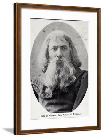 Opera Singer Hector Dufranne--Framed Giclee Print