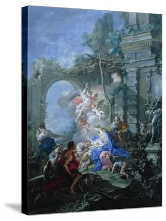 Nativity, 1764-Filippo Falciatore-Stretched Canvas Print