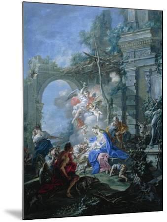 Nativity, 1764-Filippo Falciatore-Mounted Giclee Print