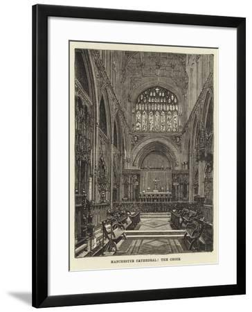 Manchester Cathedral, the Choir--Framed Giclee Print