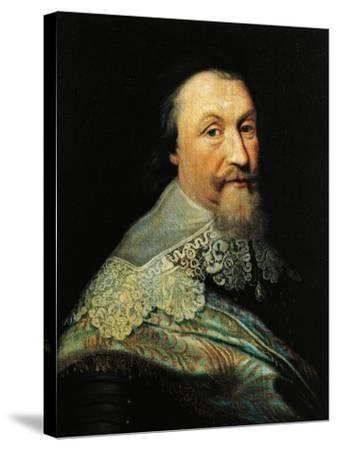 Portrait of Axel Oxenstierna of Sodermore--Stretched Canvas Print