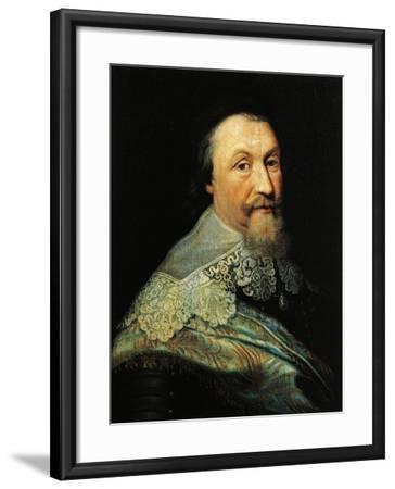 Portrait of Axel Oxenstierna of Sodermore--Framed Giclee Print