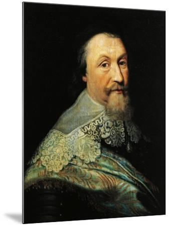 Portrait of Axel Oxenstierna of Sodermore--Mounted Giclee Print
