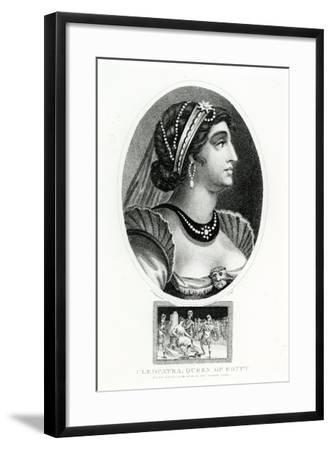 Cleopatra, Queen of Egypt--Framed Giclee Print