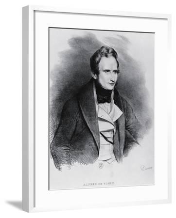 Portrait of Alfred Victor De Vigny--Framed Giclee Print