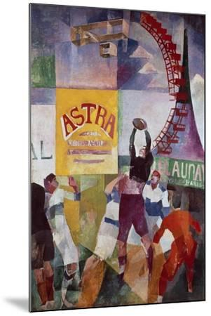 The Cardiff Team, 1912-13-Robert Delaunay-Mounted Giclee Print