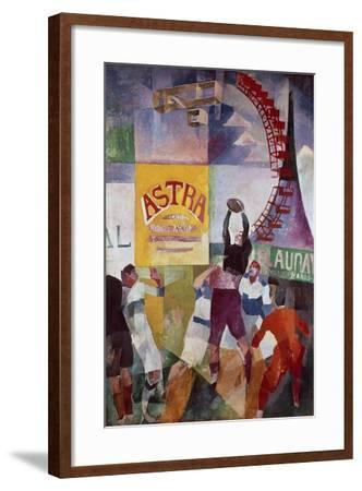 The Cardiff Team, 1912-13-Robert Delaunay-Framed Giclee Print