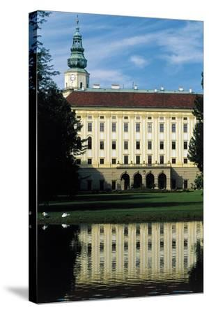Archbishop's Palace--Stretched Canvas Print