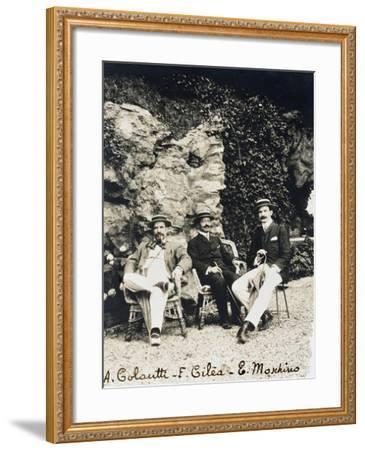 Francesco Cilea--Framed Giclee Print
