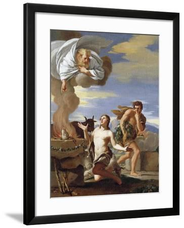 The Sacrifice of Abel, 1634-Charles Mellin-Framed Giclee Print