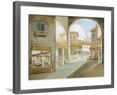 The Butcher's Shop-Giuseppe Bernardino Bison-Framed Giclee Print