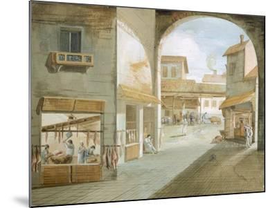 The Butcher's Shop-Giuseppe Bernardino Bison-Mounted Giclee Print