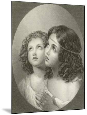 Thankful Children-Thomas Uwins-Mounted Giclee Print