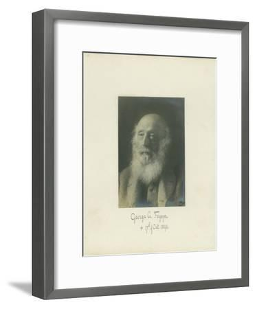 George A. Fripp, 1864--Framed Photographic Print