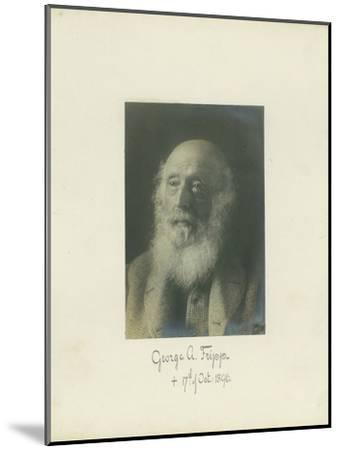 George A. Fripp, 1864--Mounted Photographic Print
