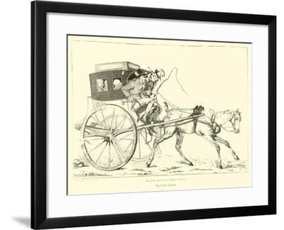 On the Road to Saint Cloud--Framed Giclee Print