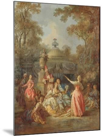 Russian Concert, 1770-Jean Baptiste Leprince-Mounted Giclee Print