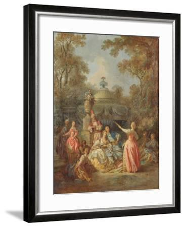 Russian Concert, 1770-Jean Baptiste Leprince-Framed Giclee Print