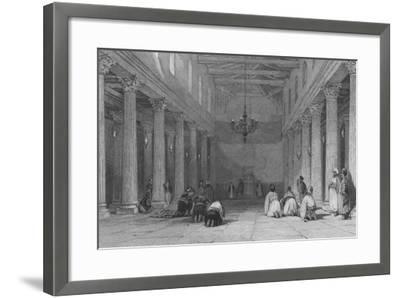Chapel at Bethlehem-Thomas Allom-Framed Giclee Print