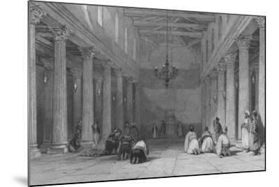 Chapel at Bethlehem-Thomas Allom-Mounted Giclee Print
