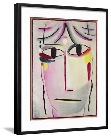 The Redeemer's Face, 1920-Alexej Von Jawlensky-Framed Giclee Print