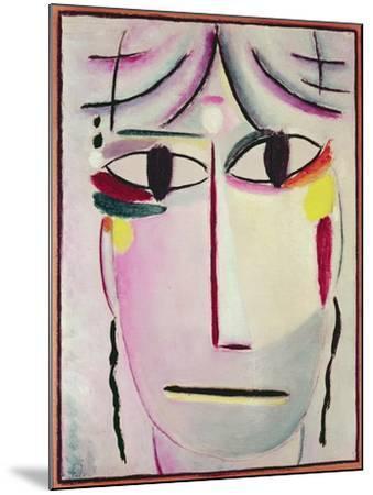 The Redeemer's Face, 1920-Alexej Von Jawlensky-Mounted Giclee Print