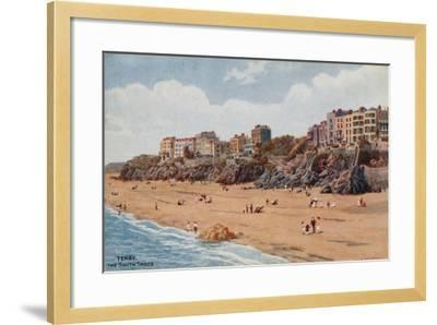 Tenby, the South Sands-Alfred Robert Quinton-Framed Giclee Print