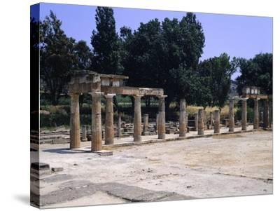 The Sanctuary of Artemis in Brauron--Stretched Canvas Print