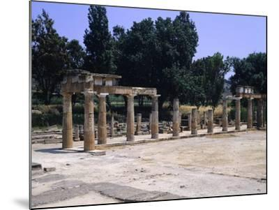 The Sanctuary of Artemis in Brauron--Mounted Giclee Print