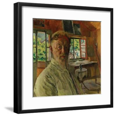 Self Portrait, 1931-Giovanni Giacometti-Framed Giclee Print
