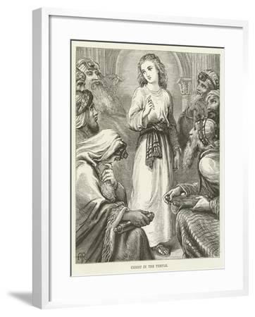 Christ in the Temple--Framed Giclee Print
