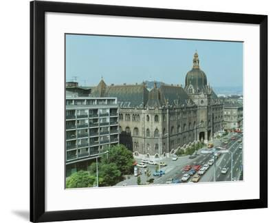 Exterior View, Built by Oedeon Lechner--Framed Giclee Print